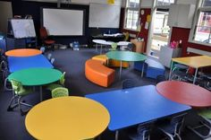 Example of colourful, modern learning environment: Furnware