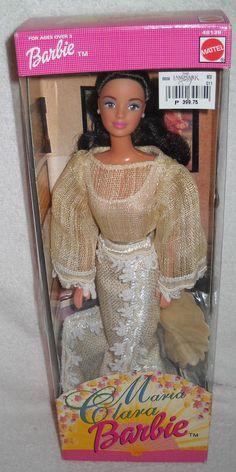 #6209 NRFB Mattel Philippines Maria Clara Barbie Foreign Issue #Mattel #Dolls