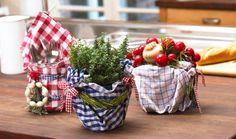 Tischlein deck dich - Deko im Landhaus-Look
