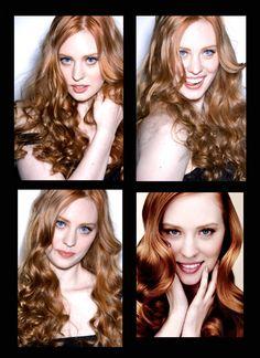 HAIR!!  Love Deborah Ann Woll.
