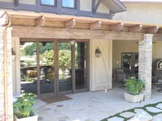 Multi-Slide Doors create the perfect transition from indoors to out! Indoor Outdoor Living, Outdoor Spaces, Sliding Patio Doors, Resort Style, Open Up, Luxury Lifestyle, Luxury Homes, Pergola, The Incredibles