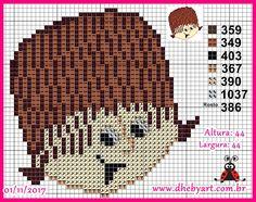 Cristãozinho Cross Stitching, Teddy Bear, Animals, Fictional Characters, Art, Cross Stitch Embroidery, Character, Toddler Girls, Dibujo