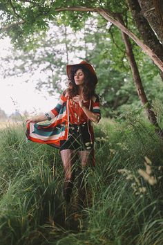 Judy Blue Shorts, Mod Cloth Cardigan, Tittle Millinery Hat, Wildlife Works Top