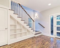 Beauty Traditional Stairs To Inspire Yourself Storage Under Staircase, Stair Storage, Basement Stairs, Easy Diy, Inspire, Traditional, Beauty, Ideas, Home Decor