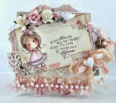 Live & Love Crafts' Inspiration and Challenge Blog: Pink Hugs & Kisses