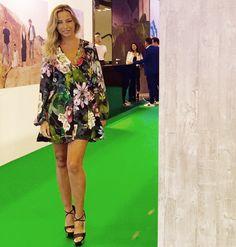 The gorgeous Ana Luisa Matos in Naughty Dog FW1617 Autumn fantasy jumpsuit