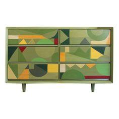 Viyet - Designer Furniture - Storage - Morris of California Vintage Pattridge Dresser