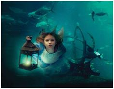 The work of Elena Kalis, a Russian photographer who specializes in underwater photography