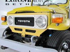 Land Cruiser Of The Day! – Enter the world of Toyota Land Cruisers Toyota Lc, Toyota Fj40, New Toyota Land Cruiser, Fj Cruiser, Range Rovers, Cars And Motorcycles, Brazil, Mustard, Restoration
