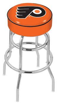 Philadelphia Flyers Bar Stool - Orange - click image to enlarge