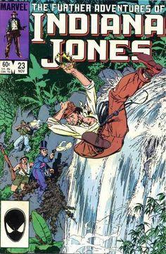 Indiana Jones #23 by Michael Golden