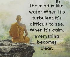 Get away from the stress and the drama. Be able to think again.