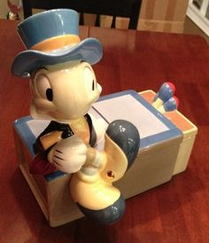 Jiminy Cricket Limited Edition of 350 Cookie Jar made in China by Disney Auctions