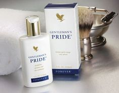 Pamper and soothe your skin with the moisture of Gentleman's Pride®, an alcohol-free aftershave in a clean, masculine scent. Feel the icy exhilaration of this unique blend of lubricants and moisturizers combined with pure, stabilized aloe vera gel. Forever Living Business, Forever Living Aloe Vera, Gentleman, After Shave Balm, Forever Living Products, Aloe Vera Gel, Moisturiser, Cleansers, Alcohol Free