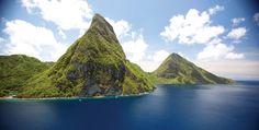 Fabulous scenery in St Lucia