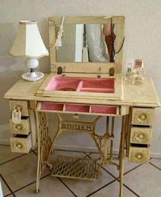 Gabinete maquina costura