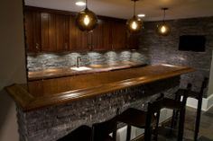 basement bar www.erinmarshall.com
