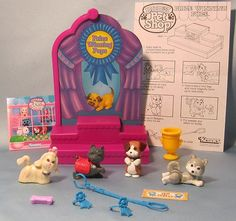 Vtg. 1993 Littlest Pet Shop my sis and I had this one. I used the husky and shih tzu. The scottie and beagle were hers.