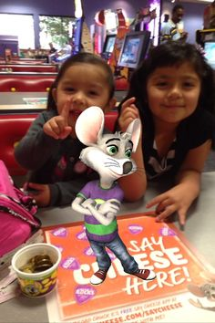 Hanging with Chuck E. #saycheese