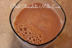 Best Homemade Chocolate Milk -three ingredients, no ingredients that are hard to pronounce and really good! Best Chocolate Milk, Homemade Chocolate, Chocolate Dreams, Chocolate Syrup, Milk Recipes, Ice Cream Recipes, Snack Recipes, Cinnamon Cream Cheese Frosting, Cinnamon Cream Cheeses