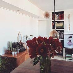 Un intérieur fleuri @judegiacomi