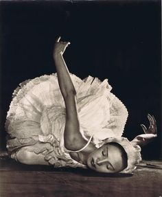 Czech dancer in Swan Lake, 1951. Photo by Zdeněk Tmej via Czech-art.com #dancefashion