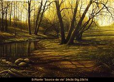 Source de Vie Painting, Art, Painting Art, Paintings, Kunst, Paint, Draw, Art Education, Artworks