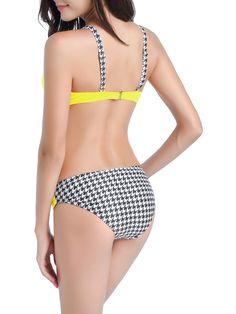 67e01d0ccdb70 LELINTA Sexy Bikini Set Push Up Padded Swimsuit Low-Rise Bottoms Two Piece  Swimwear Bathing Suit for Women Five Color - Walmart.com