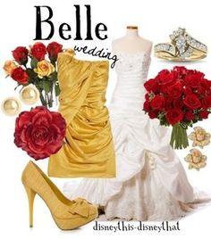 #Disney #dress #beauty and the beast
