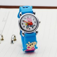 Brand Quartz Wrist Watch Baby Children watch hearts Kid Watches For Girls Boys Fashion Casual Reloj(China)
