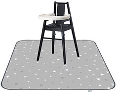 Toddler Booster Seat for Dining Table /& 51 Splat mat Anti-Slip Play Floor Mat