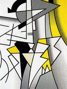 """Roy Lichtenstein: """"I like to pretend that my art has nothing to do with me."""""""