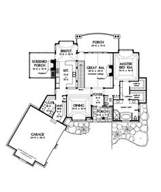 European Flair (HWBDO75766) | European House Plan from BuilderHousePlans.com
