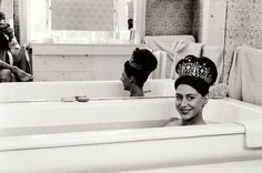 """""""there must be quite a few things that a hot bath won't cure, but i don't know many of them""""-sylvia plath"""