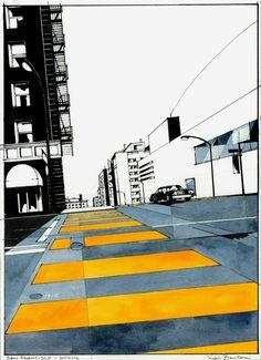 "Galeria - Arte e Arquitetura: ""Il Senso delle Cose"", Illustrações de Fabio Barilari - 5"