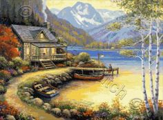 Cross stitch kits, patterns and charts from John Zaccheo. Description from…