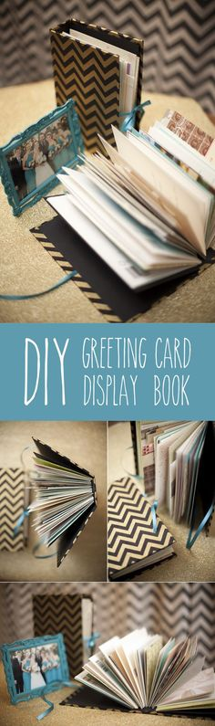 turn your wedding cards into a book {diy} — Dreamy Elk Photography & Design
