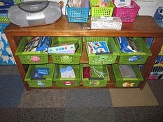 """note bins/ baskets don't necessarily have to """"fit"""" on the shelves."""