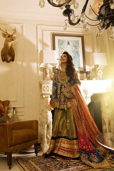 Here we present beautiful and ever best Pakistani bridal engagement dresses for Find Maxis, Lehenga, Gharara, long/short frock or any other dress design on your engagement. Check engagement dress pictures and ideas. Pakistani Mehndi Dress, Pakistani Bridal Couture, Bridal Mehndi Dresses, Pakistani Formal Dresses, Bridal Dress Design, Wedding Dresses For Girls, Pakistani Dress Design, Party Wear Dresses, Pakistani Outfits