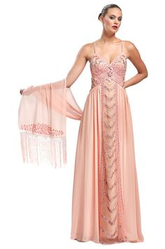 Couture Candy - Empired Chiffon Gown, $349.00 (https://www ...