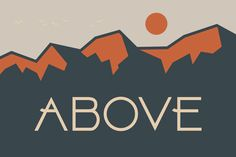 ABOVE © by Hypefonts on Creative Market