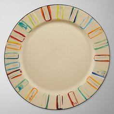 Buy Da Terra Multicolour Dinner Plate Online at johnlewis.com