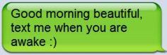 Beautiful text