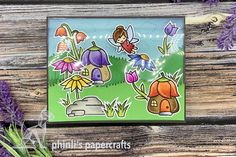 lawn fawn acetate partly cover card «have a magical day Lawn Fawn, Cardmaking, Backdrops, Cloud, Paper Crafts, Type, Cover, Birthday, Cards
