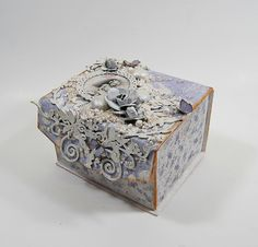 Altered box by Marilyn - Creative Embellishments