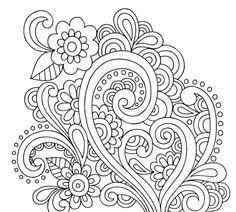 Floral Element 5 Doodle - Doodle is Art