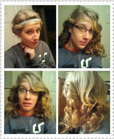 """Not really the look i was looking for. Because of how the head band goes your """"curls"""" go farther down in the back. Not really full coverage. The curls aren't the same size. If you really wanted to curl your hair without using heat..... I wouldn't curl your hair, cause this is a no go in my book."""