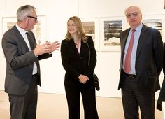 Princess Stephanie visited Luxembourg Art Week