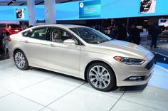 2017 Ford Fusion V6 Sport  #2017MY #EcoBoost #Ford #Ford_Fusion #V6 #Segment_D #American_brands #Serial #North_American_International_Auto_Show_2016