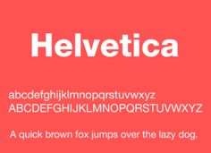10 Free Helvetica Fonts Download